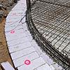 Absteckung für Bauausführung