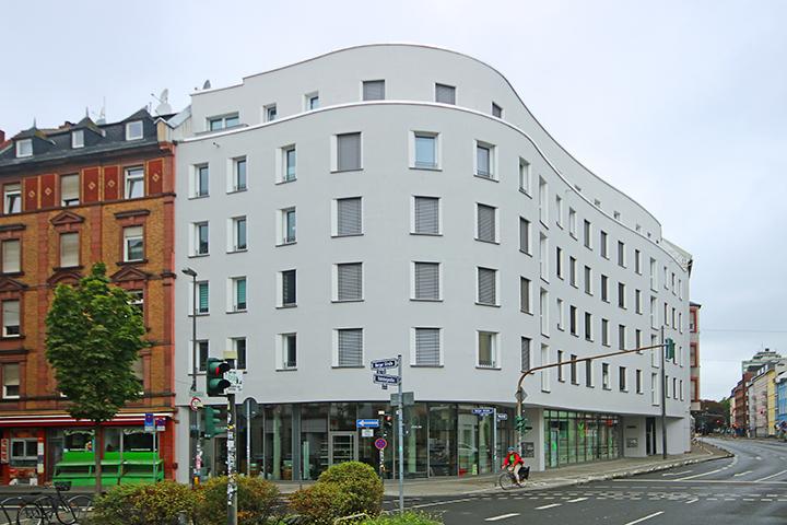 Wohn- und Geschäftshaus, Berger Straße, Höhenstraße, Frankfurt