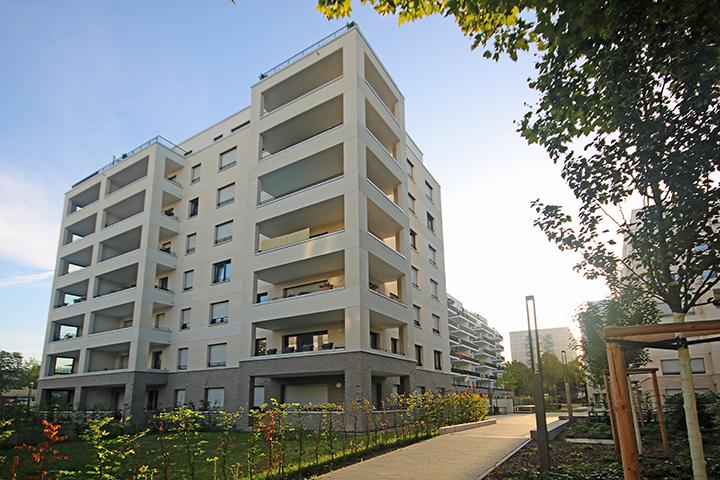Wohnbebauung Adickesallee, Bertramstraße, Frankfurt/Main
