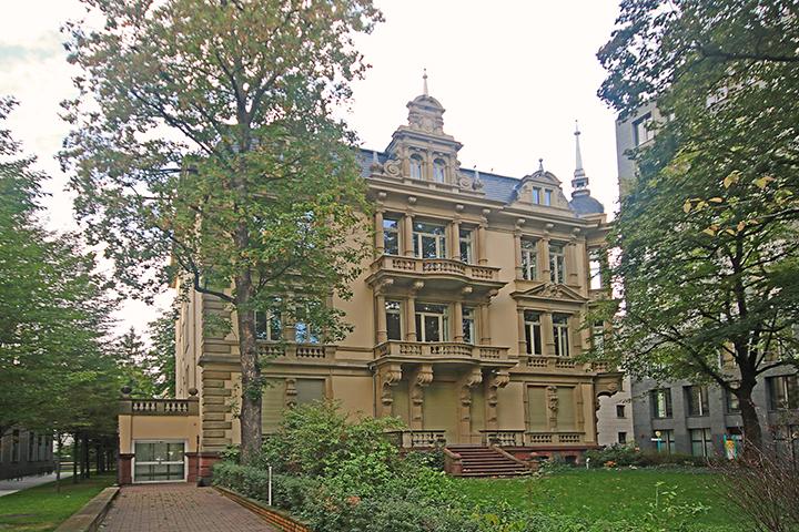 Villa, Bockenheimer Landstraße, Frankfurt am Main, Aufmaß gif-Mietfläche aus Grundrissen, Erstellung Mietflächenpläne und Mietflächentabellen